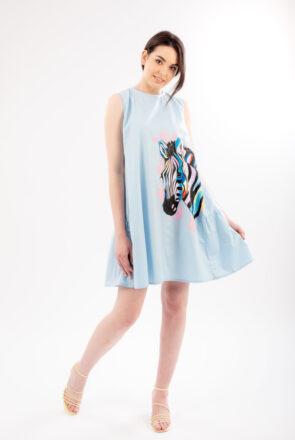 rochie-bleu-pictata-pearl-1