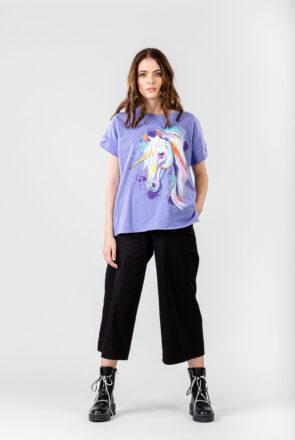 tricou-lila-pictat-unicorn-vaya-1