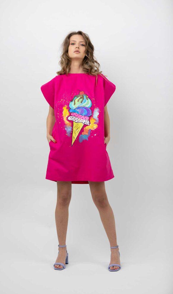 rochie-roz-pictata-lulit-1