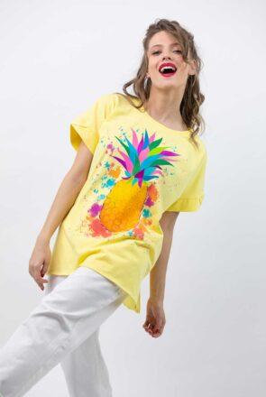 tricou-galben-pictat-gemstone-1